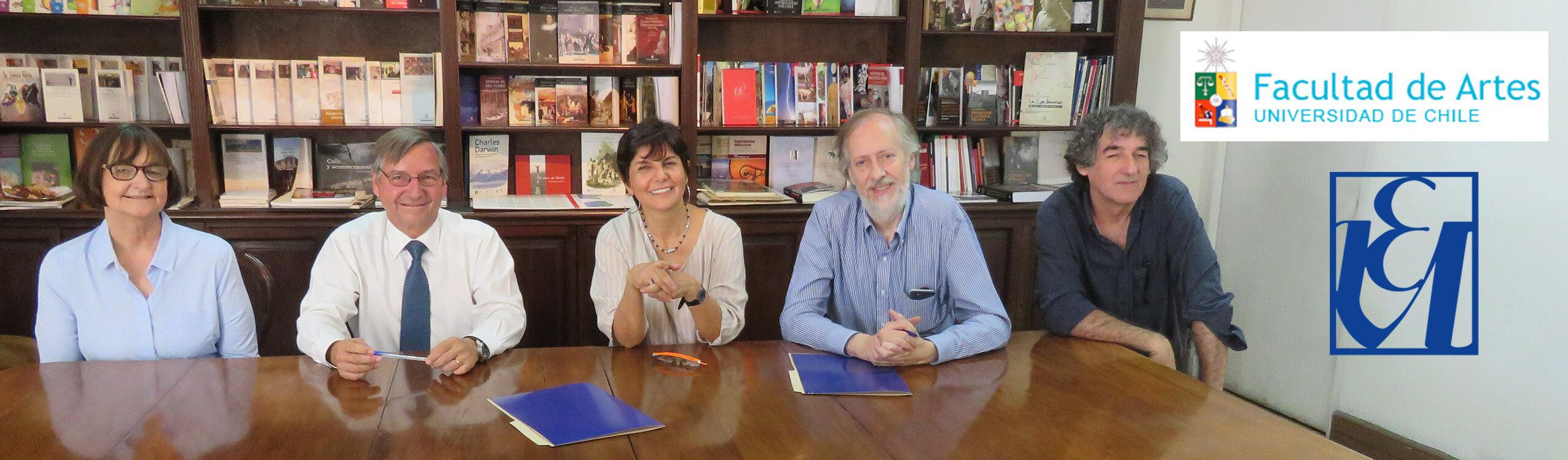convenio Editorial Universitaria Facultad de Artes Universidad de Chile