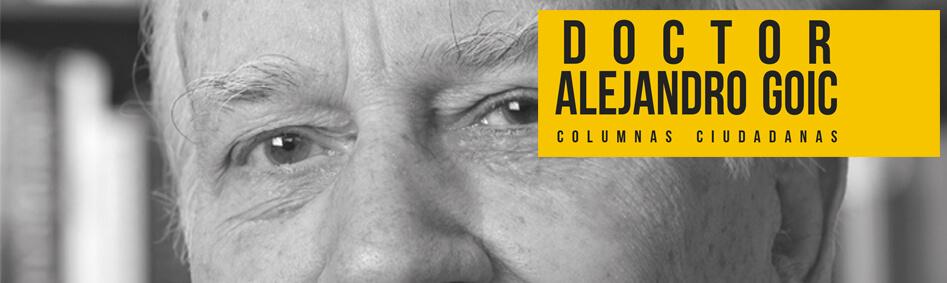 Columnas Ciudadanas Alejandro Goic Editorial Universitaria