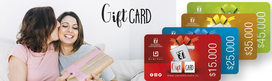 gift card Editorial Universitaria