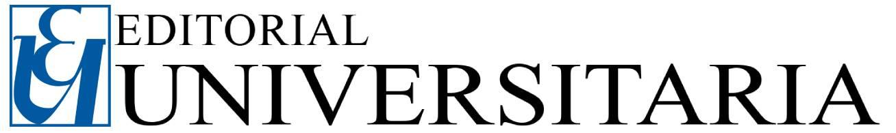 Editorial Universitaria-